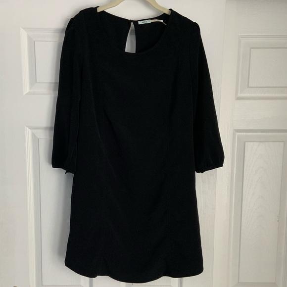 Kimchi Blue Dresses & Skirts - Urban Outfitters Kimchi Blue Black Shift Dress